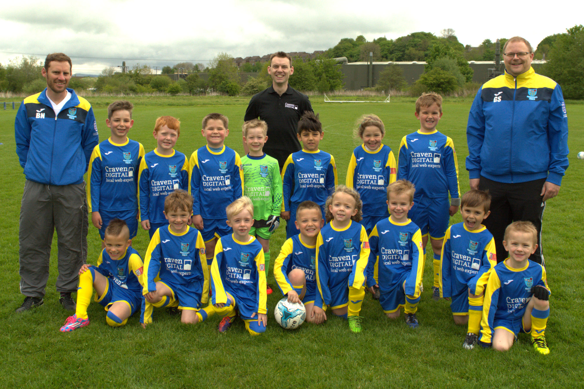 Barnoldswick Town Juniors under 6 team