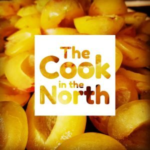 the cook in the north logo on yellow plums