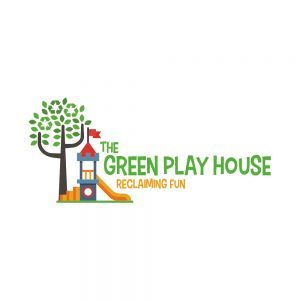 the green play house logo square