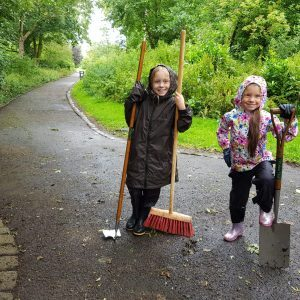 tidying up valley gardens