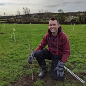 tree planting letcliffe park November 2020