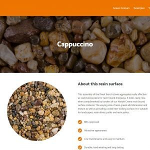 UK Resin website