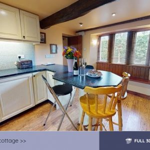 wood nook cottage 3d tour video still