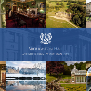 Broughton Hall website
