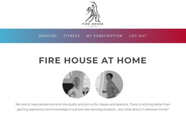fire house at home page july 2021