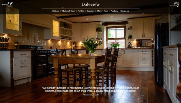 Daleview website