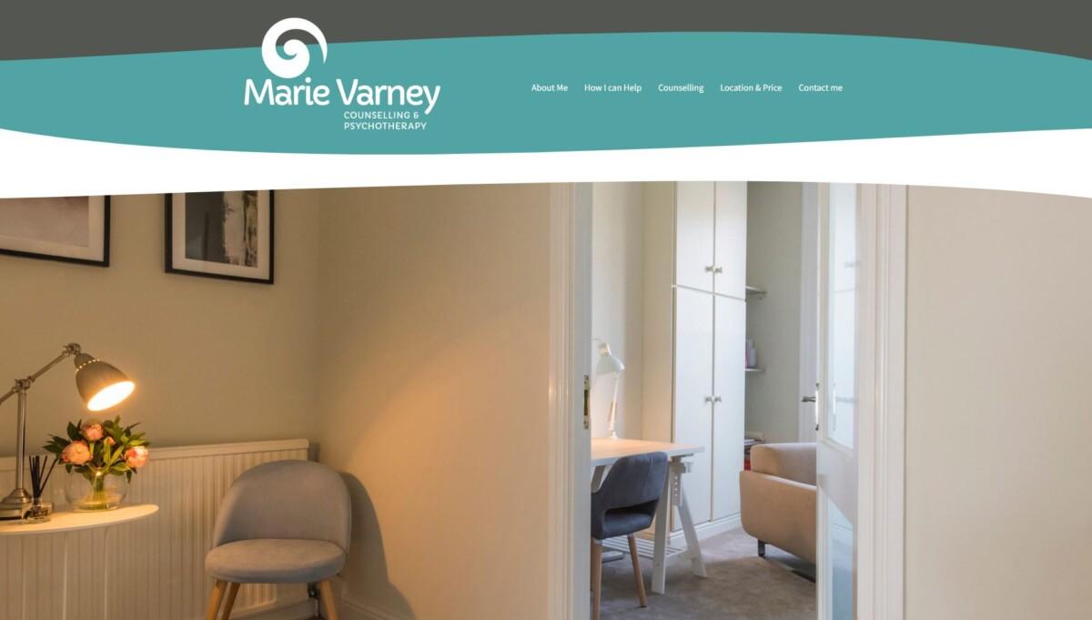 Marie Varney website